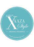 Featured on Xaaza Style Wedding Visionaries