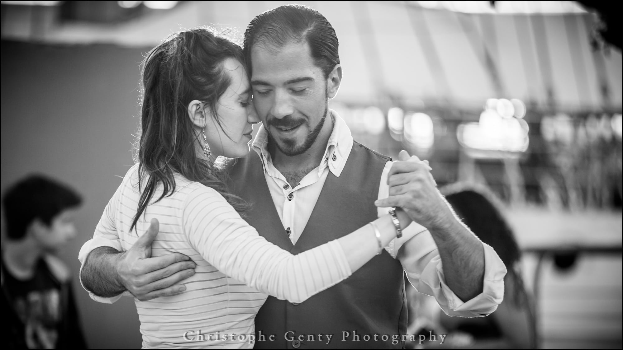 Tango Dancers in the street - Buenos Aires, Argentina - December 2015