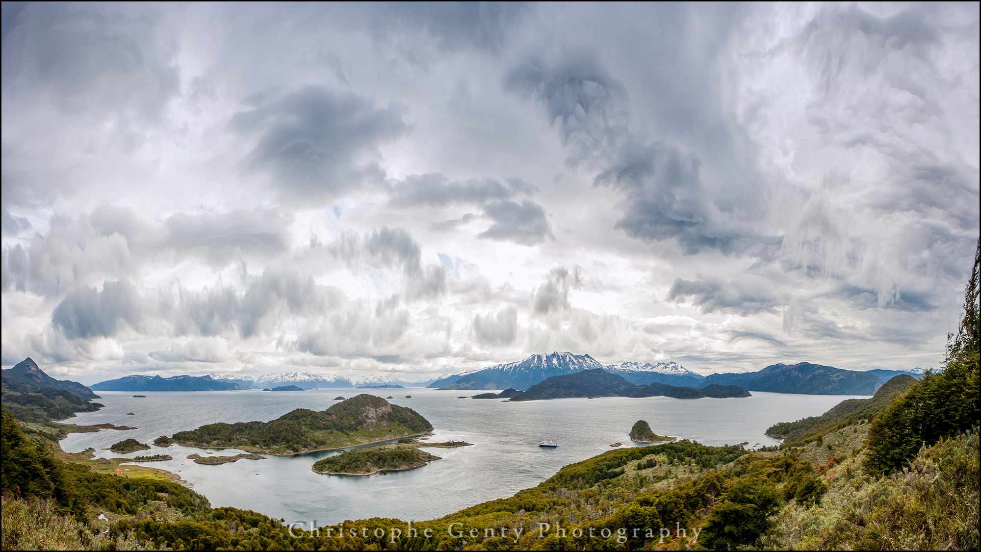 Bahía Wulaia, Murray Channel, Chile - Home of The Yaghan - December 2015