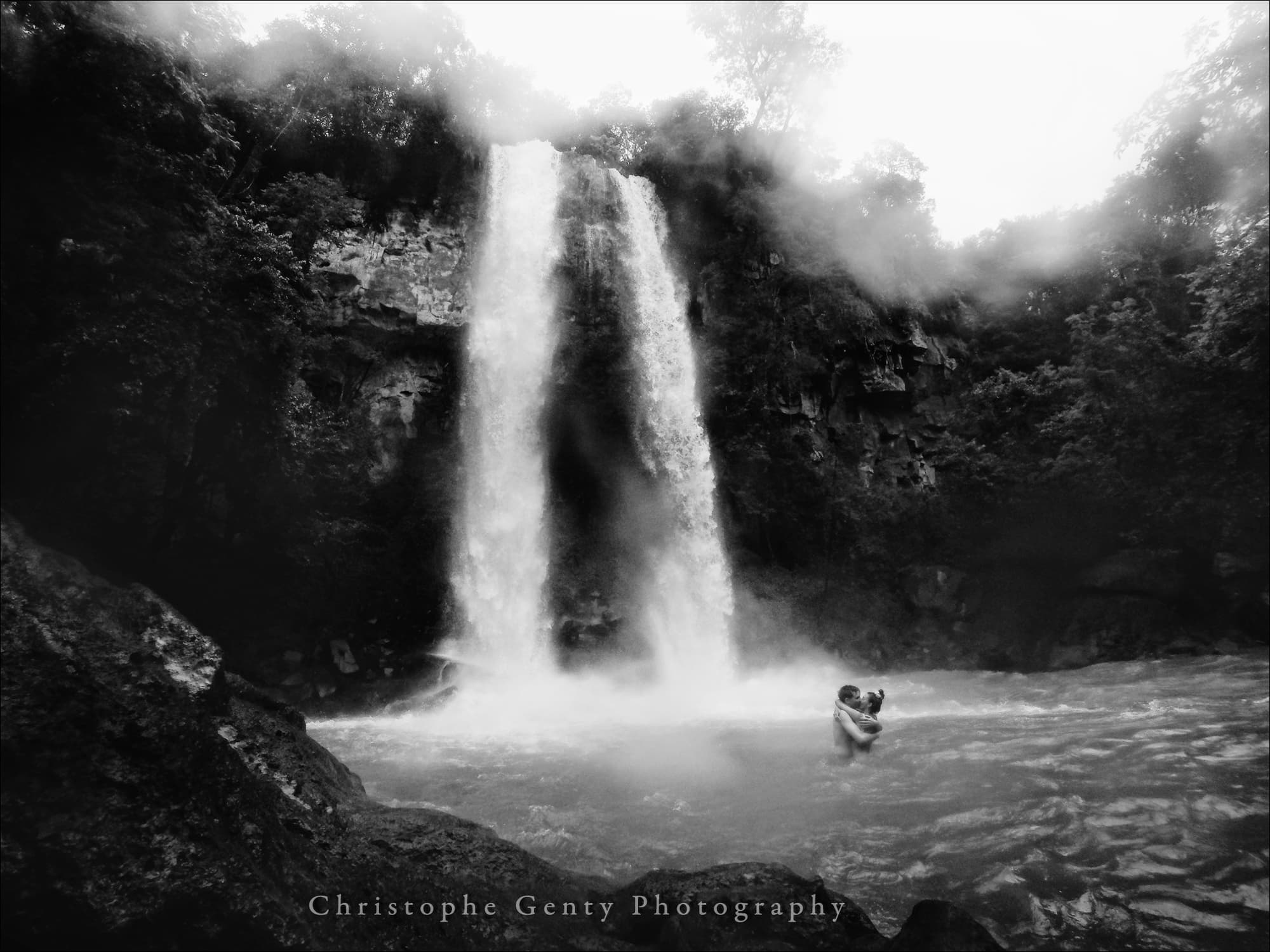 Yamile & Augusto, Iguazu Falls, Argentina - December 2015