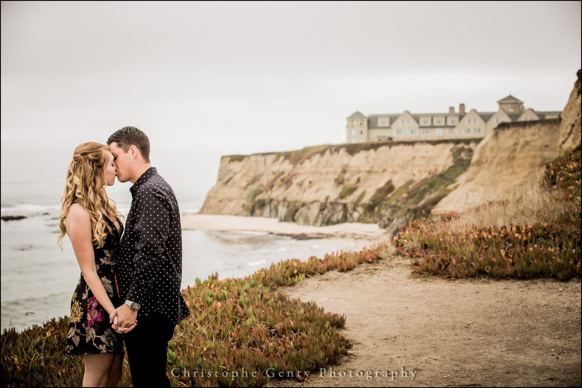 Engagement Photography In Half Moon Bay Ca
