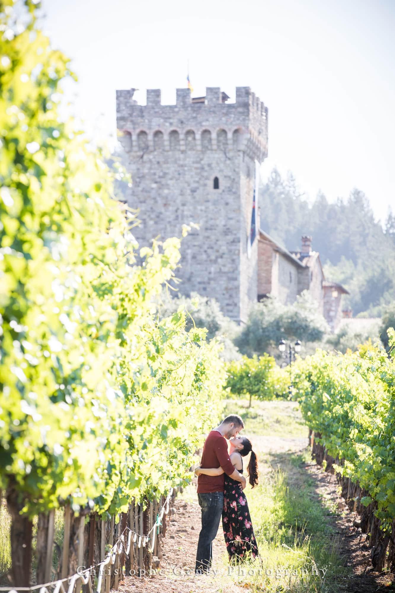 Castello di Amorosa Marriage Proposal Photography 307