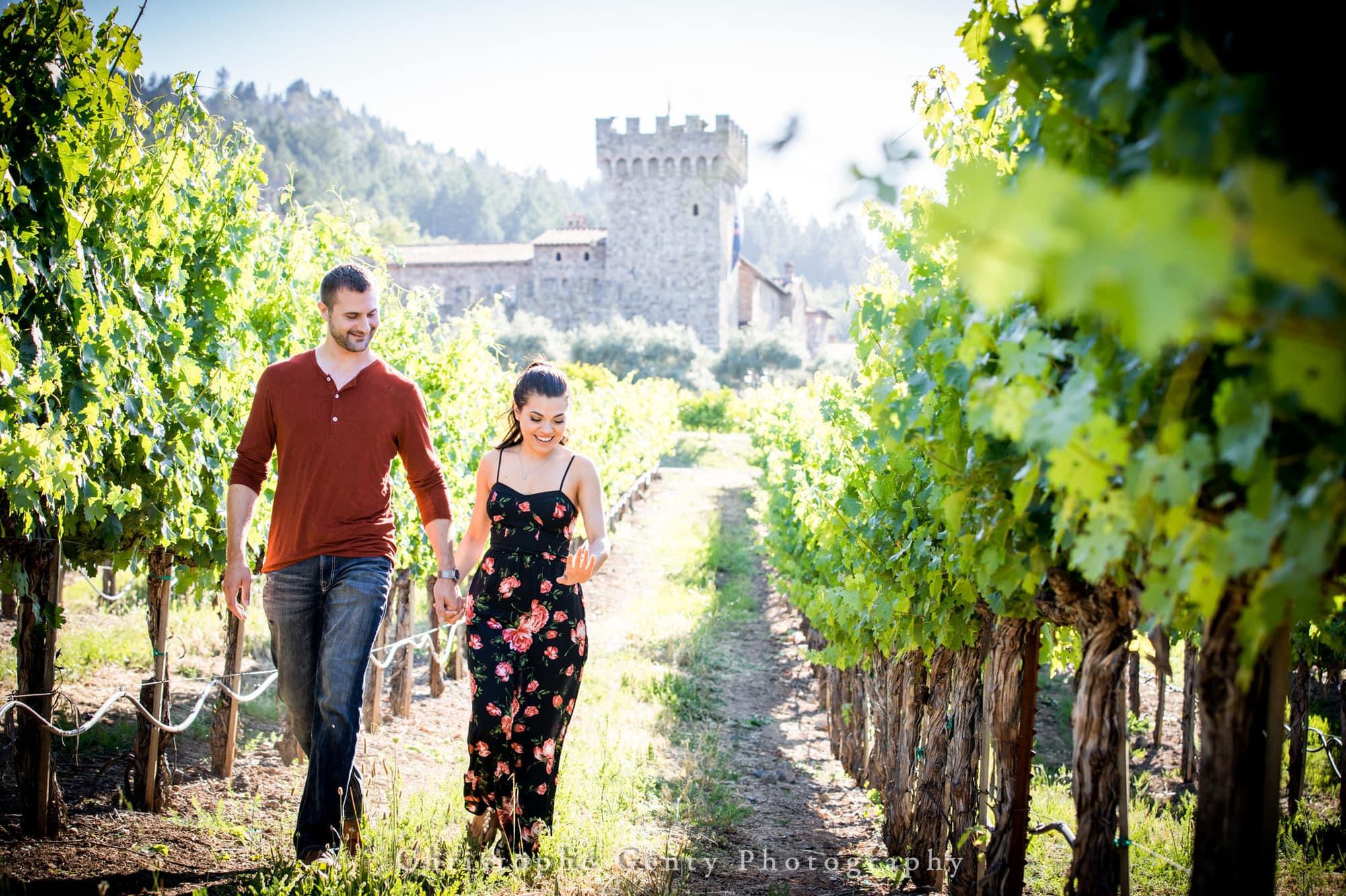 Castello di Amorosa Marriage Proposal Photography 308