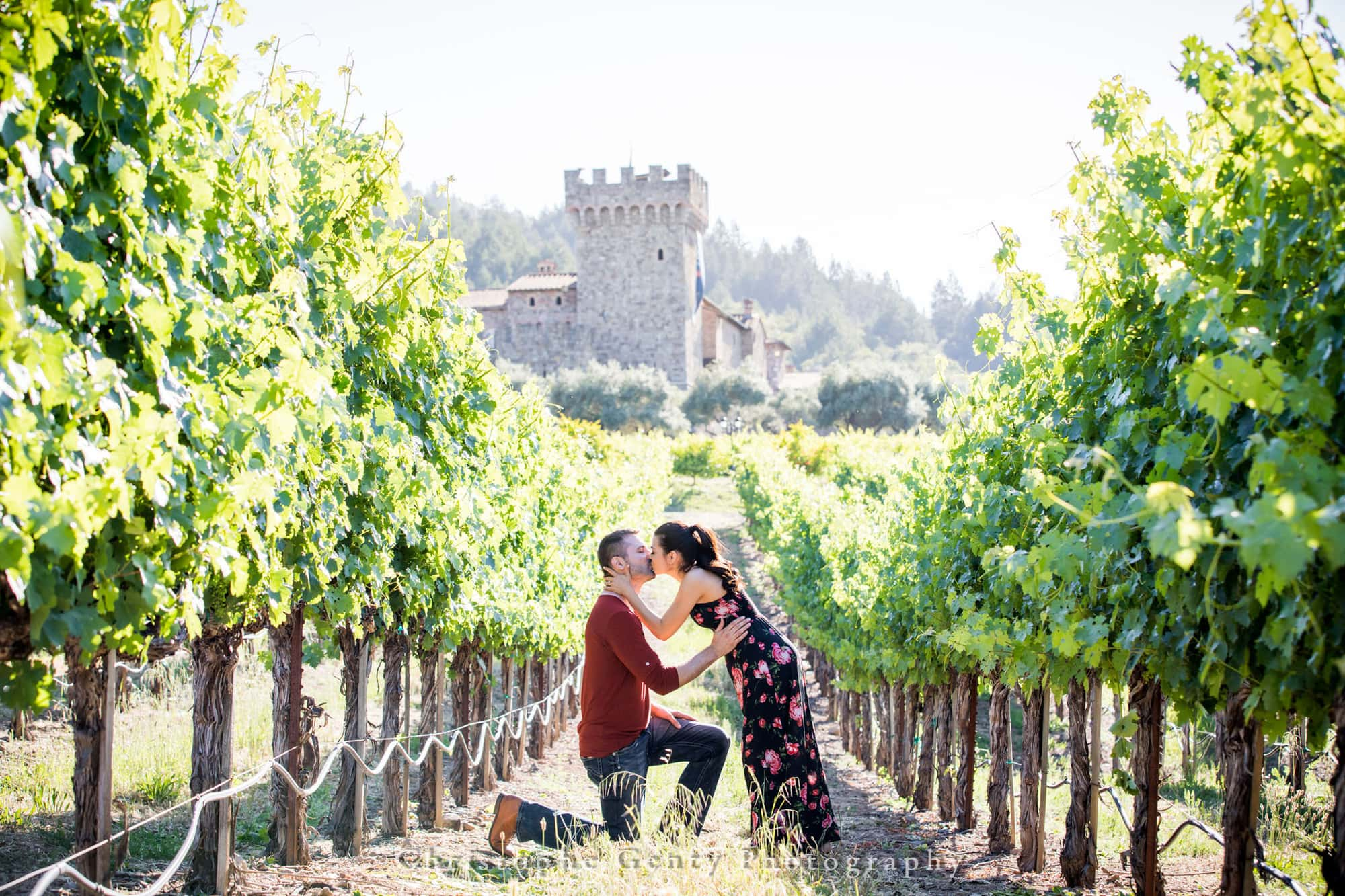 Castello di Amorosa Marriage Proposal Photography 318