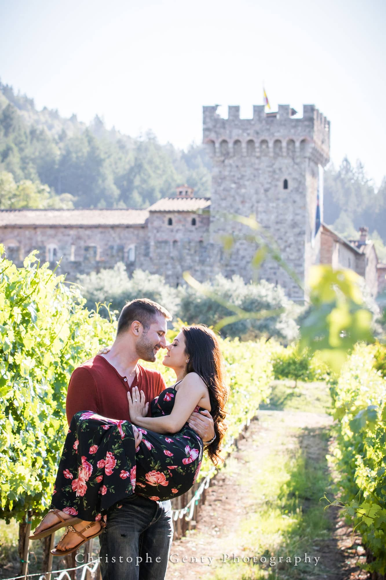 Castello di Amorosa Marriage Proposal Photography 320