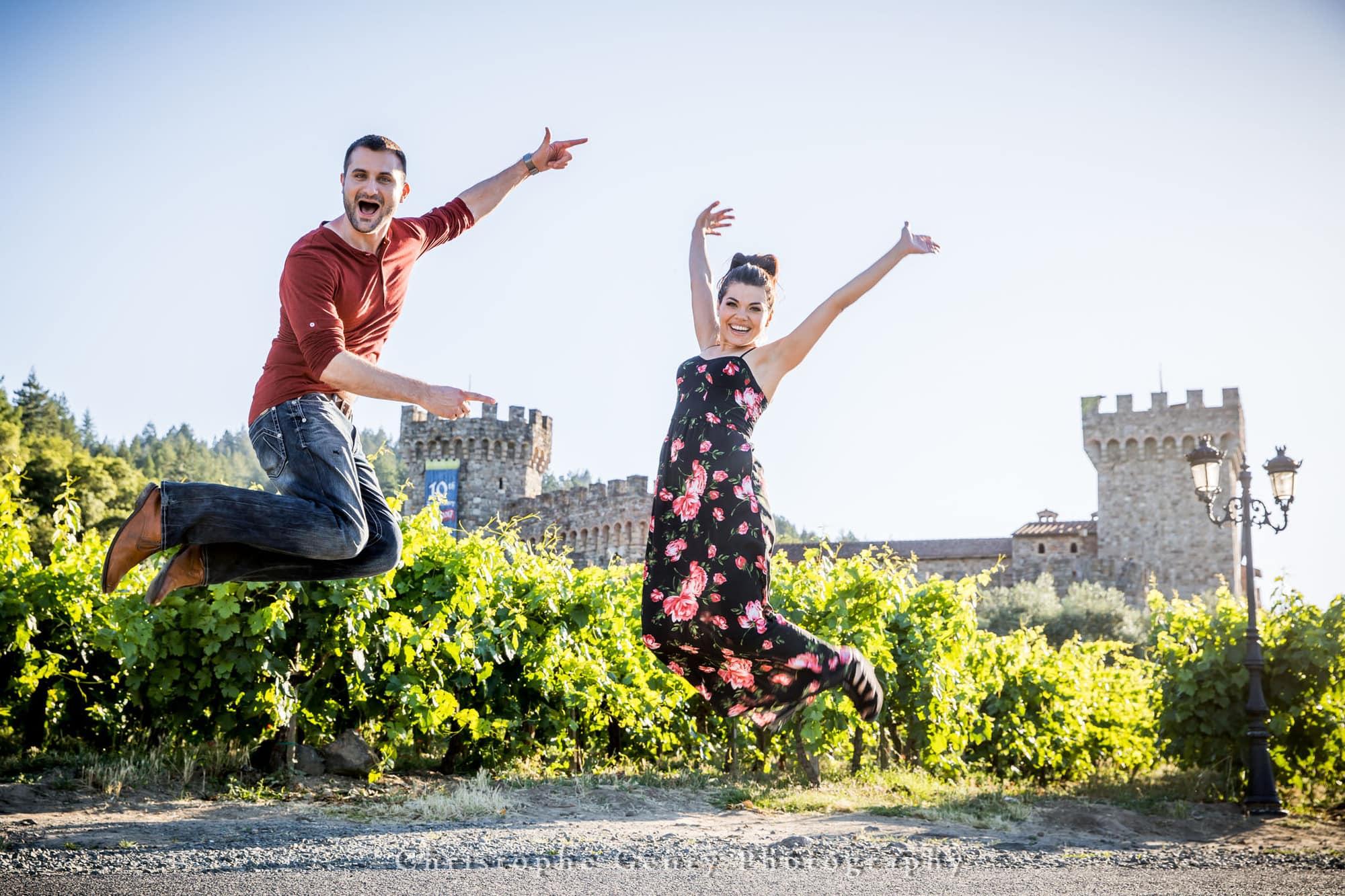 Castello di Amorosa Marriage Proposal Photography 378