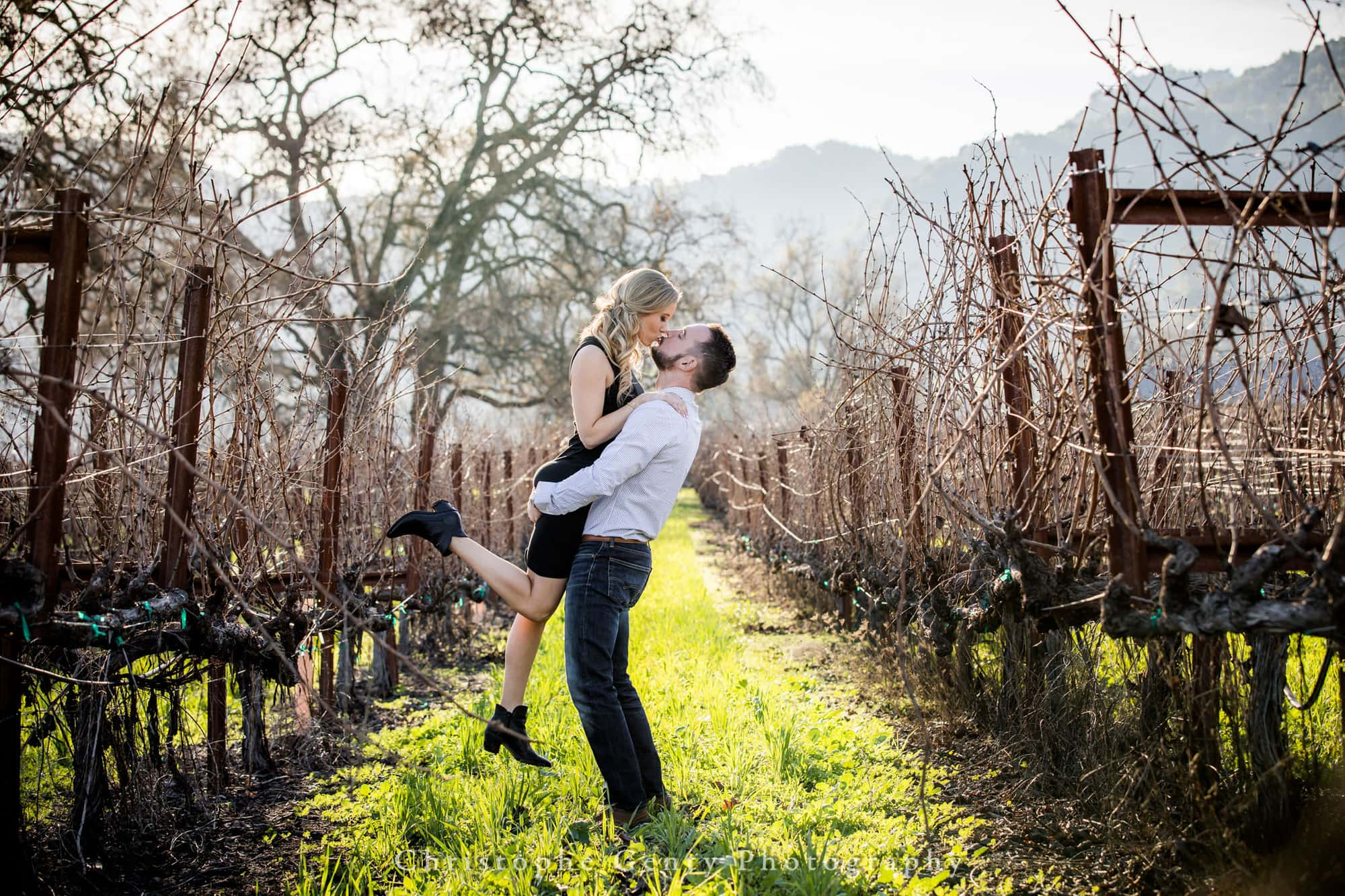 Engagement Photography in Napa
