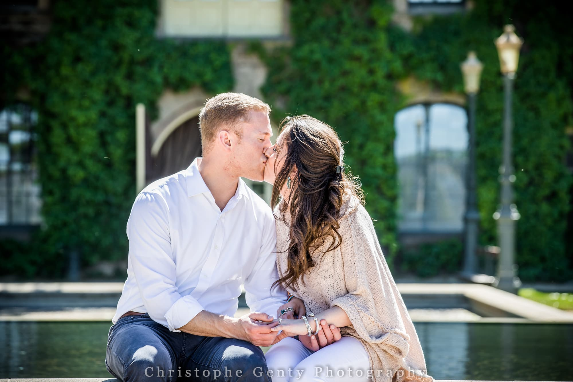Proposal Photography at Inglenook Winery in Rutherford CA