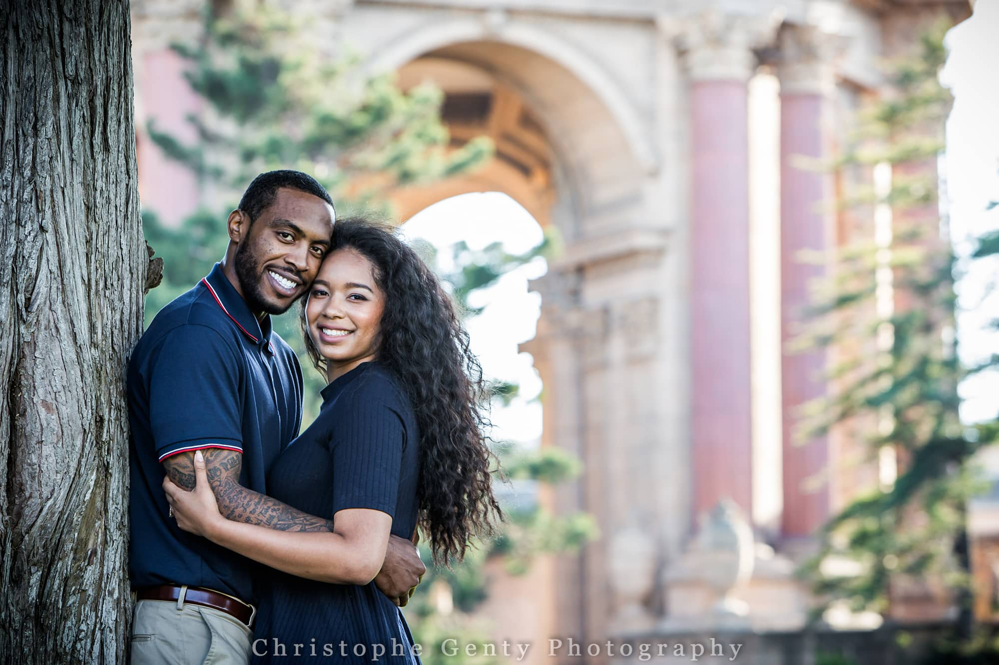 Palace of Fine Art Engagement photography San Francisco Bay Area, CA