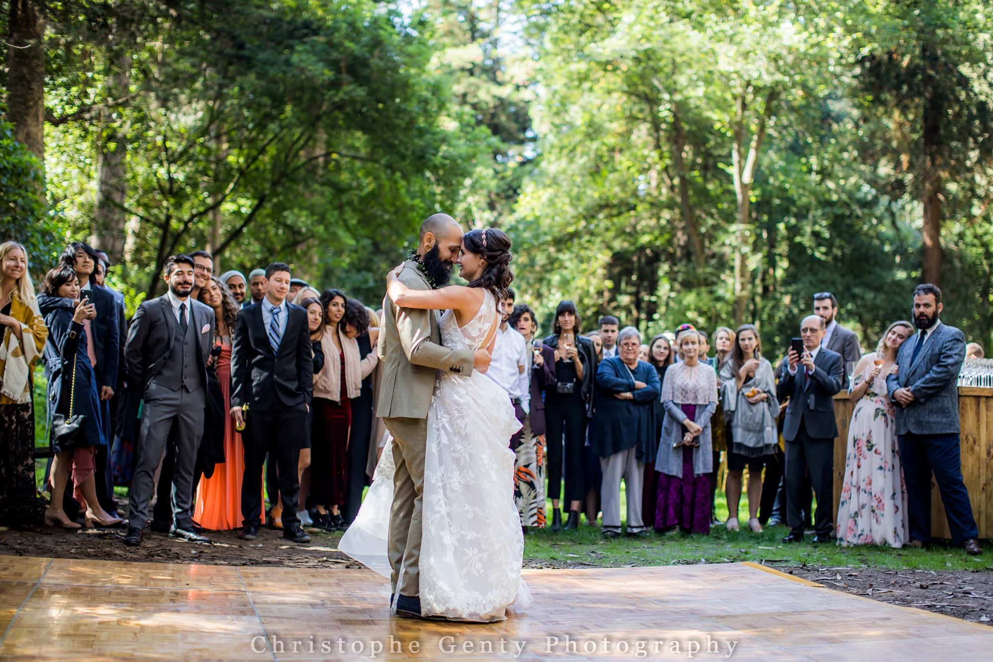 SF Sigmund Stern Grove Wedding - San Francsico Wedding